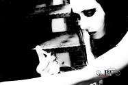 Bleak and White